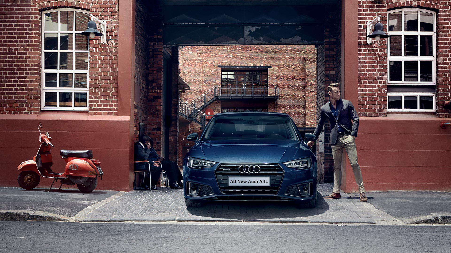 Sharp body lines – relaxation of majestic momentum. All-new Audi ...