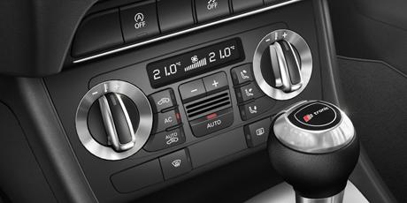 全新奥迪q3的车内自动空调